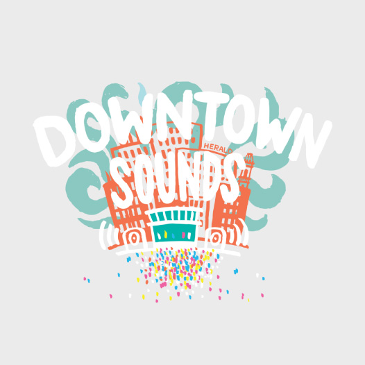 Downtown Sounds Logo
