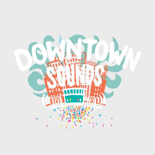 Downtown Sounds Logo